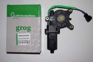 Моторедуктор(моторчик) приводу склопідіймача GROG лівий daewoo lanos,sens,ланос