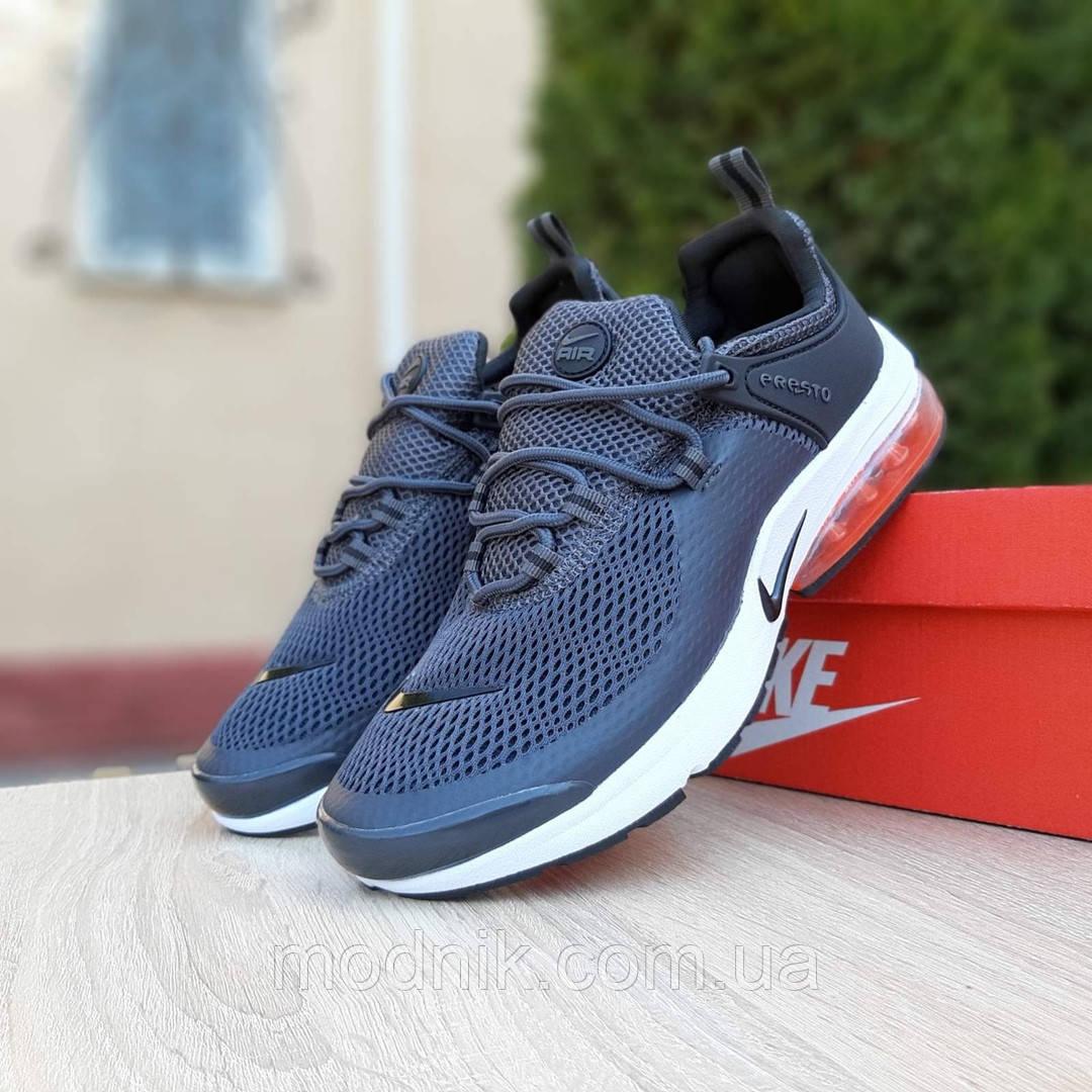 Мужские кроссовки Nike Air Presto (серые) 10066
