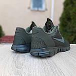 Мужские кроссовки Nike Free Run 3.0 (хаки) 10068, фото 2