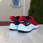 Женские кроссовки Puma Hybrid (красные) 20057, фото 2