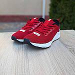 Женские кроссовки Puma Hybrid (красные) 20057, фото 8