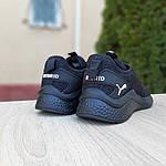 Жіночі кросівки Puma Hybrid (чорні) 20058, фото 2
