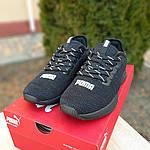 Женские кроссовки Puma Hybrid (черные) 20058, фото 6