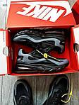 Мужские кроссовки Nike Air Max 270 React (черно-серые) 343PL, фото 3