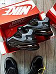 Мужские кроссовки Nike Air Max 270 React (черно-серые) 343PL, фото 7