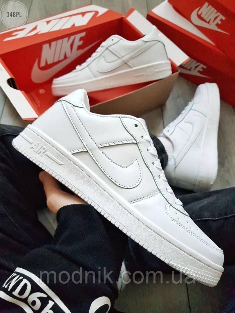 Мужские кроссовки Nike Air Force 1 Low (белые) 348PL