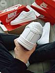 Мужские кроссовки Nike Air Force 1 Low (белые) 348PL, фото 2