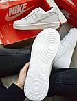 Мужские кроссовки Nike Air Force 1 Low (белые) 348PL, фото 3