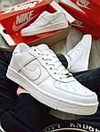 Мужские кроссовки Nike Air Force 1 Low (белые) 348PL, фото 4