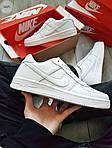Мужские кроссовки Nike Air Force 1 Low (белые) 348PL, фото 6