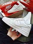 Мужские кроссовки Nike Air Force 1 Low (белые) 348PL, фото 8
