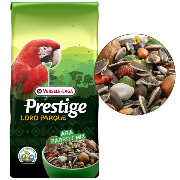 Корм для крупных попугаев Ара Верселе-Лага Versele-Laga Prestige Premium Loro Parque Ara Parrot Mix 15 кг