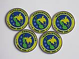 Боугенвиль 3 кина 2020 РАЙСКИЕ ПТИЦЫ 5 монет, фото 2