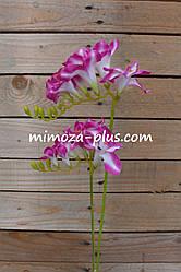 Искусственные цветы - Фрезия ветка, 70 см