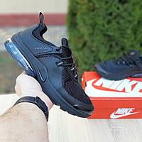Мужские кроссовки Nike Air Presto (черные) 10065