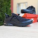 Мужские кроссовки Nike Air Presto (черные) 10065, фото 4