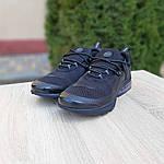 Мужские кроссовки Nike Air Presto (черные) 10065, фото 6