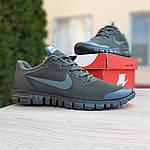 Мужские кроссовки Nike Free Run 3.0 (хаки) 10068, фото 4