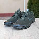Мужские кроссовки Nike Free Run 3.0 (хаки) 10068, фото 6