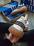 Мужские кроссовки Adidas Sobakov (бело-черные) 350PL, фото 2