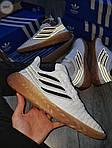 Мужские кроссовки Adidas Sobakov (бело-черные) 350PL, фото 4