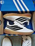 Мужские кроссовки Adidas Sobakov (бело-черные) 350PL, фото 5