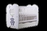 Дитяче ліжечко Angelo Lux-3 біла, фото 3