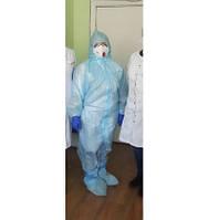 Комплект одягу медичного лікаря - інфекціоніста № 1 (з маскою 3М FFP2)