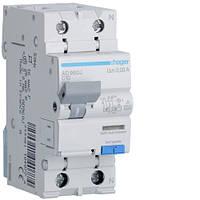 Дифференциальный автоматический выключатель 1P+N 6kA C-10A 30mA A