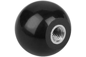 Ручка круглая гладкая форма M MMG DIN 319  M6  25 шт