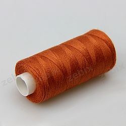 Нитки швейные 40/2 Kiwi 400 ярдов тон 445 кирпичный (терракот)