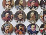 """Набор сувенирных монет """"Гетьманы Украины"""" весь комплект-- 25 монет, фото 4"""