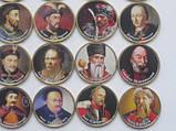 """Набор сувенирных монет """"Гетьманы Украины"""" весь комплект-- 25 монет, фото 5"""