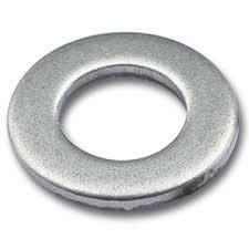 Шайба плоская латунная хромированная MMG DIN 125  M4  100 шт