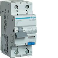 Дифференциальный автоматический выключатель 1P+N 6kA C-16A 30mA A
