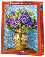 Пазлы для творчества Цветы гортензии/ 1000 элементов / Castorland (Касторленд)