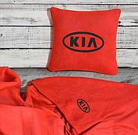 """Автомобильный плед-подушка с вышивкой логотипа """"KIA"""", фото 3"""