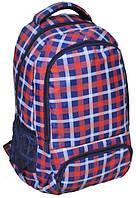 Рюкзак PASO в клетку 21 л Разноцветный КОД: 15-8122A
