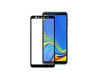 Защитное 3D стекло Full Cover для Samsung A7 2018 A750 Black (1881) КОД: 1881