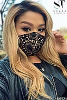 Дизайнерская защитная маска на лицо