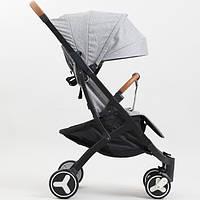 Детская прогулочная коляска YoyaPlus 3 Серая (959770419) КОД: 959770419