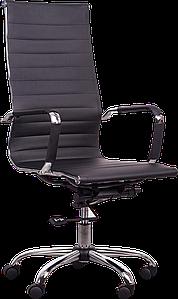 Кресло Slim HB черный АМФ