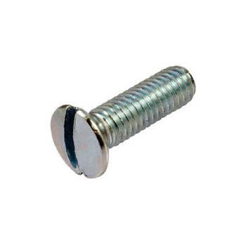 Винт полупотайной латунный никелированный MMG DIN 964 M3 х 12  200 шт