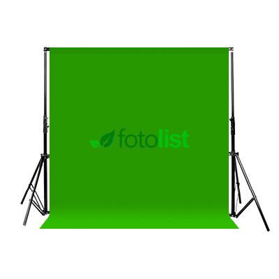 Комплект: Фон тканевой зеленый 3,0х3,0 м (Хромакей) + Ворота Arsenal ARS-300 (высота 3.0м)