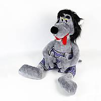 Мягкая игрушка Золушка Волк 84 см Серый КОД: 023