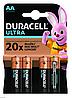 Батарейки алкалиновые Duracell  ULTRA AA (LR6 пальчик)