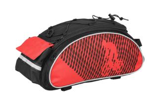 Сумка велосипедная B-Soul на багажник красная
