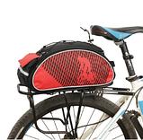 Велосипедна Сумка B-Soul на багажник червона, фото 2