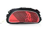 Сумка велосипедная B-Soul на багажник красная, фото 3
