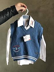 """Жилетка """"Люкс"""" ріст 104 см на 4 роки, на сорочку."""